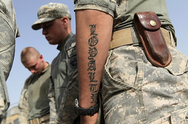 U.S. Army Tattoos