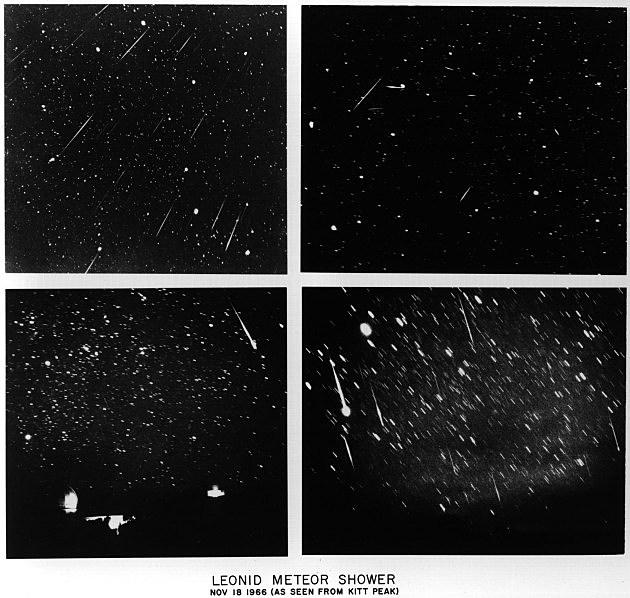 Leonid Meteor Shower 1966 Leonid Meteor Shower Peaks