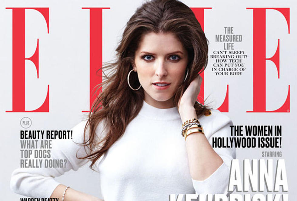 Maines Anna Kendrick Featured On ELLE Magazine Cover